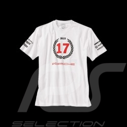 T-shirt Porsche Le Mans 2015 n° 17 Unisex weiß Porsche Design WAP971