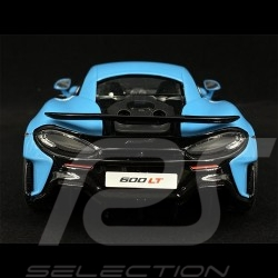 McLaren 600 LT 2018 Curacao Blue 1/18 GT Spirit GT310