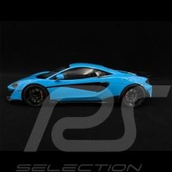 McLaren 600 LT 2018 Bleu blue blau Curacao 1/18 GT Spirit GT310
