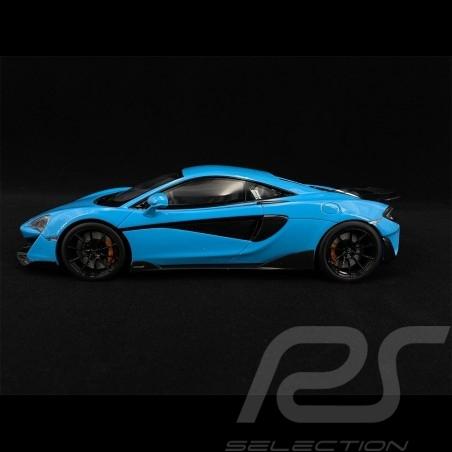 McLaren 600 LT 2018 Curacao Blau 1/18 GT Spirit GT310
