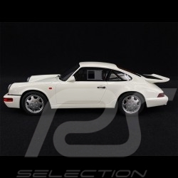 Porsche 911 Carrera 4 Lightweight Type 964 1991 Blanc white weiß Grand Prix 1/18 GT Spirit GT319