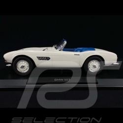 BMW 507 Cabriolet 1957 Blanc / Bleu 1/18 Norev 183232