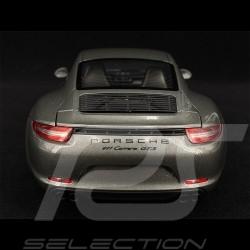 Porsche 911 Carrera GTS Coupe Type 991 2014 Agate Grey 1/18 Schuco 450039600