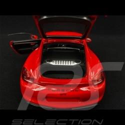 Porsche Cayman GT4 Type 981 2015 Guards red 1/18 Schuco 450040300