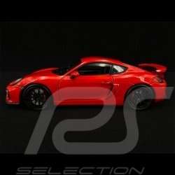 Porsche Cayman GT4 Type 981 2015 Rouge rot red Indien 1/18 Schuco 450040300