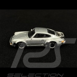 Porsche 911 Turbo Type 930 1977 Argent silver silber Métallique 1/87 Schuco 452656200