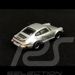 Porsche 911 Turbo Type 930 1977 Silver Metallic 1/87 Schuco 452656200