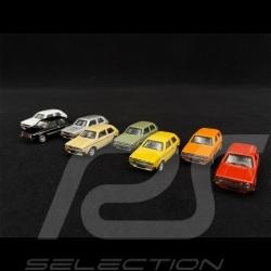 Set 4 Volkswagen Golf - 4 Volkswagen Golf GTI 1976 Multiple Colors 1/87 Schuco 452660300