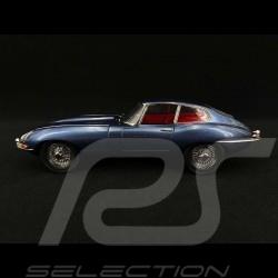 Jaguar E Type RHD 1961 Dark Blue 1/18 Kyosho KYO8954BL