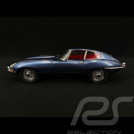 Jaguar E Typ RHD 1961 Dunkelblau 1/18 Kyosho KYO8954BL