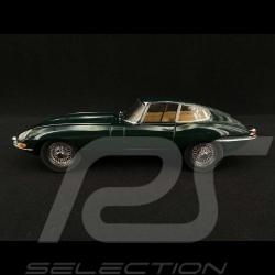 Jaguar Type E RHD 1961 Vert British Racing 1/18 Kyosho KYO8954G0