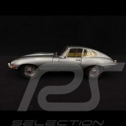 Jaguar Type E RHD 1961 Gris Métallique 1/18 Kyosho KYO8954GM