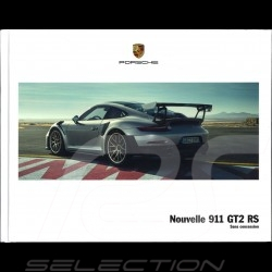 Brochure Porsche Nouvelle 911 GT2 RS Sans concession 06/2017 en français WSLD1801000130