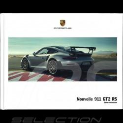 Porsche Broschüre Nouvelle 911 GT2 RS Sans concession 06/2017 in Französisch WSLD1801000130