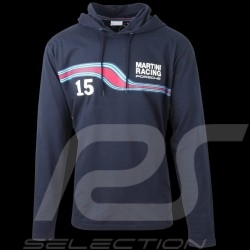 Sweatshirt Porsche Martini Racing Hoodie Dunkelblau WAP920F - herren