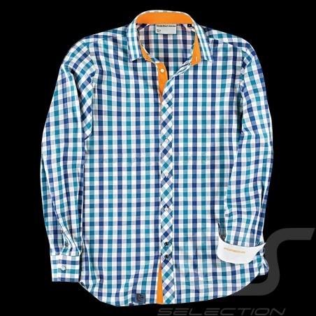 Porsche Shirt Metropolitan Collection Blue WAP962F - men