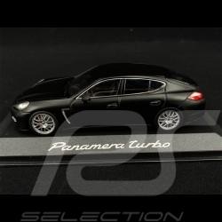 Porsche Panamera Turbo 2009 Noir black schwarz Mat 1/43 Minichamps WAP0200270C