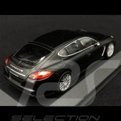 Porsche Panamera Turbo 2009 Matt Black 1/43 Minichamps WAP0200270C