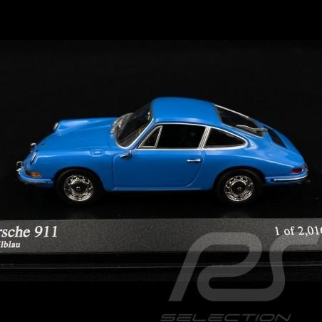 Porsche 911 Coupé 1964 pastel blue 1/43 Minichamps 430067134