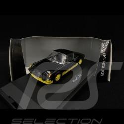 """Porsche 914 2.0 """"Bumblebee"""" Yellow-Black 1/43 Schuco 450370500"""