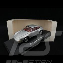 Porsche 911 Carrera Type 993 Silver 1/43 Minichamps WAP02003597