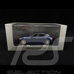 Porsche Panamera 4S blue 1/43 Minichamps WAP02000419