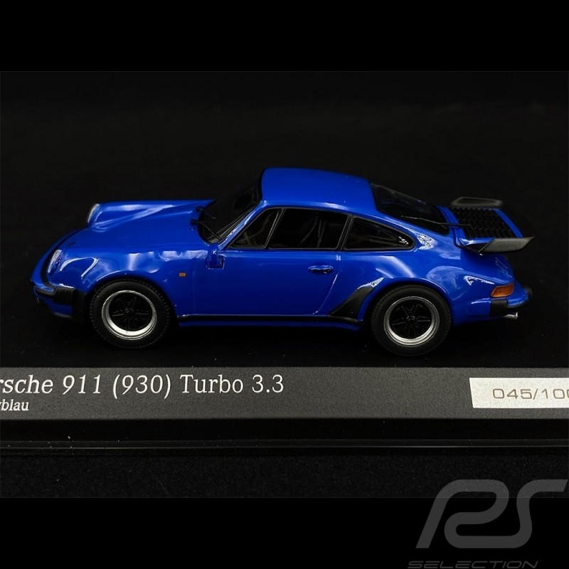 Porsche 911 type 930 Turbo 3.3 Arrow blue 1/43 Minichamps CA04316038