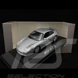 Porsche 911 GT3 Type 996 2002 Artic Silver Metallic 1/43 Minichamps WAP02009513