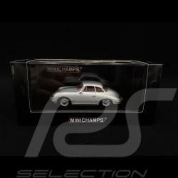 Porsche 356 B Hardtop Coupé 1960 silver grey 1/43 Minichamps 400064321