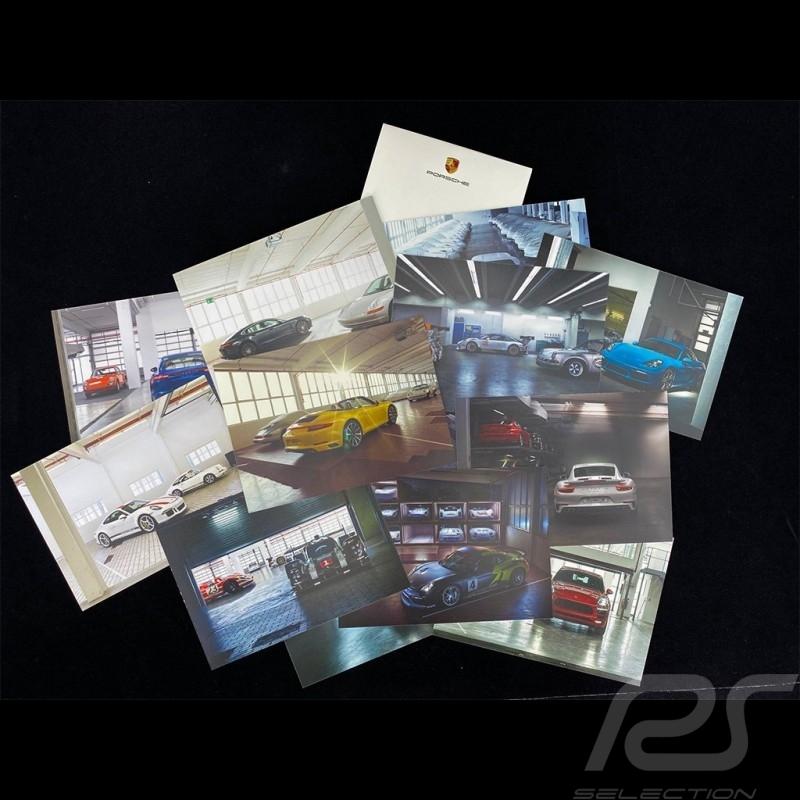 Set 12 Porsche Uncovered Postcards