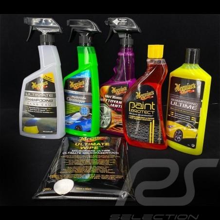 Kit de nettoyage complet extérieur cleaning Außenreinigungsset Meguiar's pour votre voiture