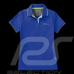 Porsche polo shirt Sport Collection Blau / Grün WAP546H - Damen