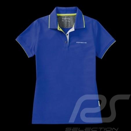 Porsche polo shirt Sport Collection Blue / Green WAP546H - women