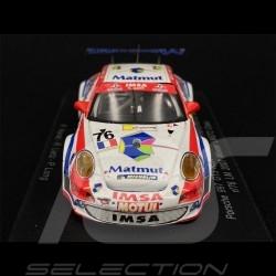 Porsche 911 GT3 RSR Type 997 n° 76 Class winner 24h Le Mans 2007 1/43 Spark S1903