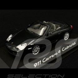 Porsche 911 Type 996 Carrera 4 Cabriolet black 1/43 Minichamps WAP02008512