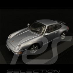 Porsche 911 Carrera 3.6 Type 993 1994 Polar Silver 1/43 Minichamps