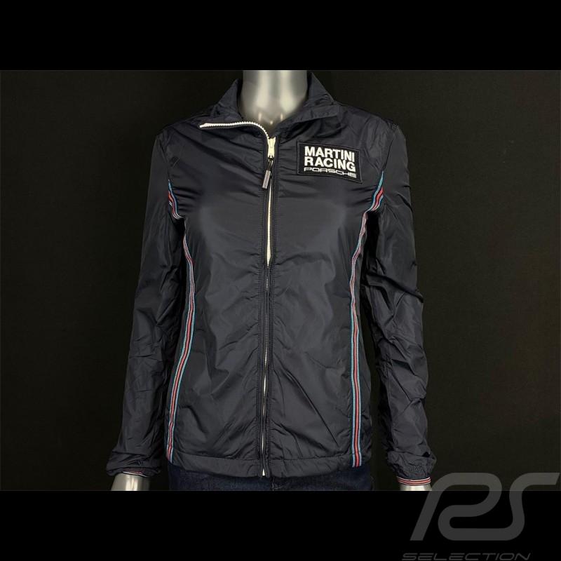 Windbreaker Jacket Porsche Martini Racing Dark Blue WAP923F - Women