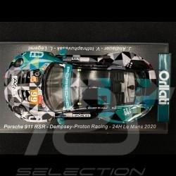 Porsche 911 RSR Type 911 n° 99 24h Le Mans 2020 1/43 Spark S7996