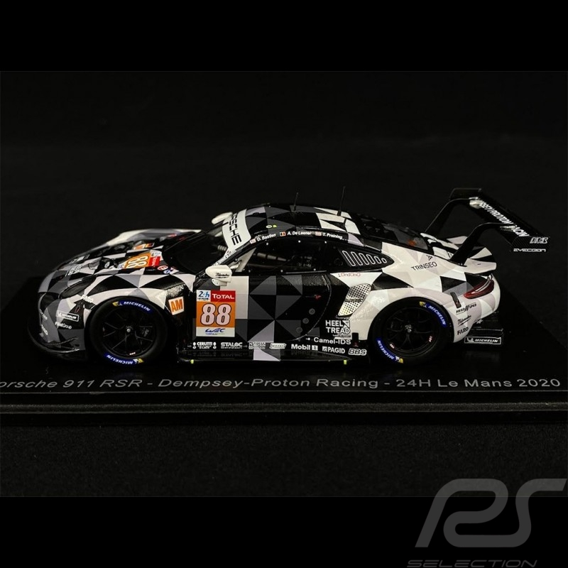 Porsche 911 RSR Type 991 n° 88 24h Le Mans 2020 1/43 Spark S7992