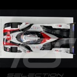 Toyota TS050 Hybrid n° 8 Winner 24h Le Mans 2019 1/18 Spark 18LM19