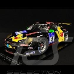 Porsche 911 GT3 R type 997 24h Nürburgring 2011 n° 8 Haribo 1/18 Spark 18SG01