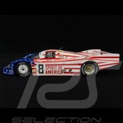 Porsche 956 LH 3ème 3rd 3. 24h Le Mans 1986 1/18 Solido S1805503