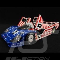 Porsche 956 LH 3rd 24h Le Mans 1986 1/18 Solido S1805503