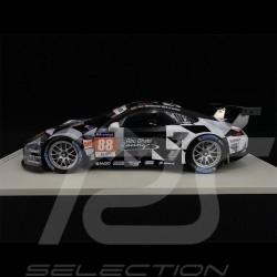Porsche 911 RSR typ 991 n° 88 24h Le Mans 2015 Abu Dhabi-Proton 1/18 Spark 18S197