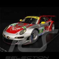 Porsche 911 RSR type 997 n° 80 24h Le Mans 2012 Flying Lizard 1/18 Spark 18S074