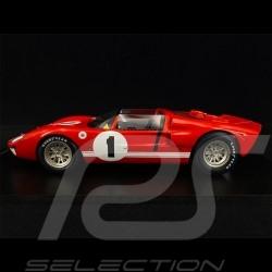 Ford GT40 X-1 Roadster n° 1 Sieger 12h Sebring 1966 Ken Miles 1/18 Spark 18SE66