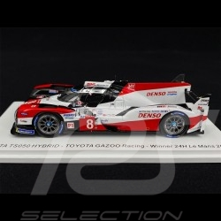 Toyota TS050 Hybrid n° 8 Vainqueur Winner Sieger 24h Le Mans 2019 1/18 Spark 18LM19