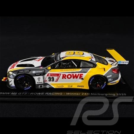 BMW M6 GT3 Team Rowe Racing Winner 24h Nürburgring 2020 1/43 Spark SG680