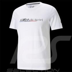 T-shirt BMW Motorsport MMS Logo Tee+ Puma Blanc white weiß 599529 02 - homme