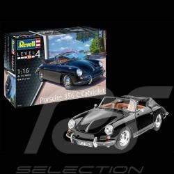 Maquette kit model Porsche 356 C Cabriolet 1964 à coller et peindre glue paint 1/16 Revell 07043